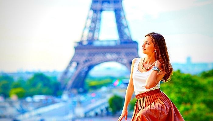 Молодая парижанка
